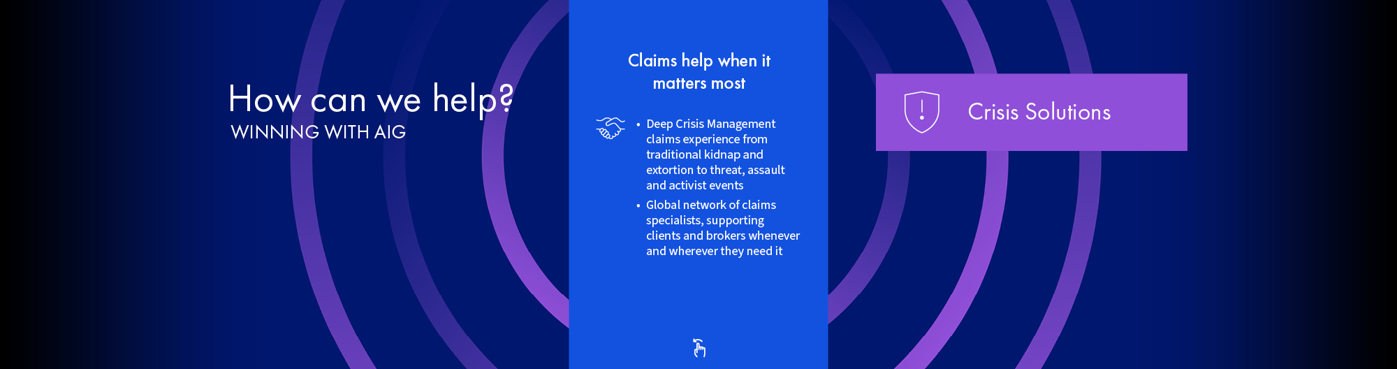 Crisis Solutions Claims